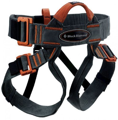 black diamond vario speed harness grey with a one size fits all easy style the vario speed is a great choice for guide schools rock gyms and outdoor