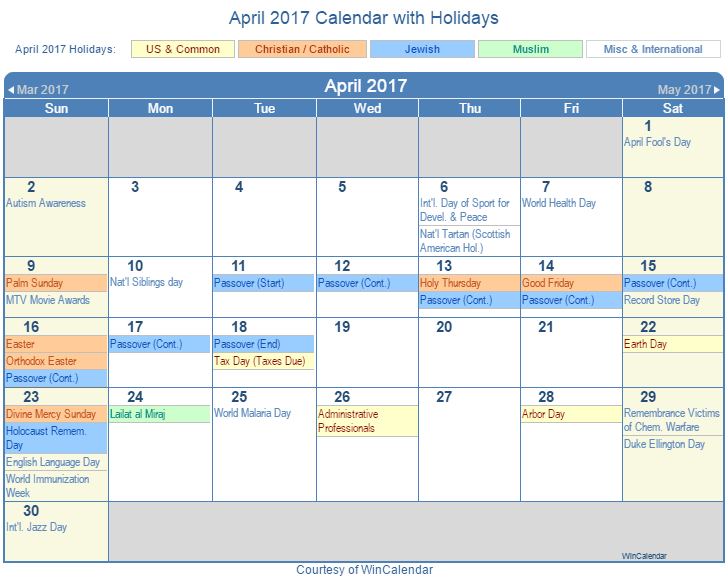 Today Calendar With Holidays (United