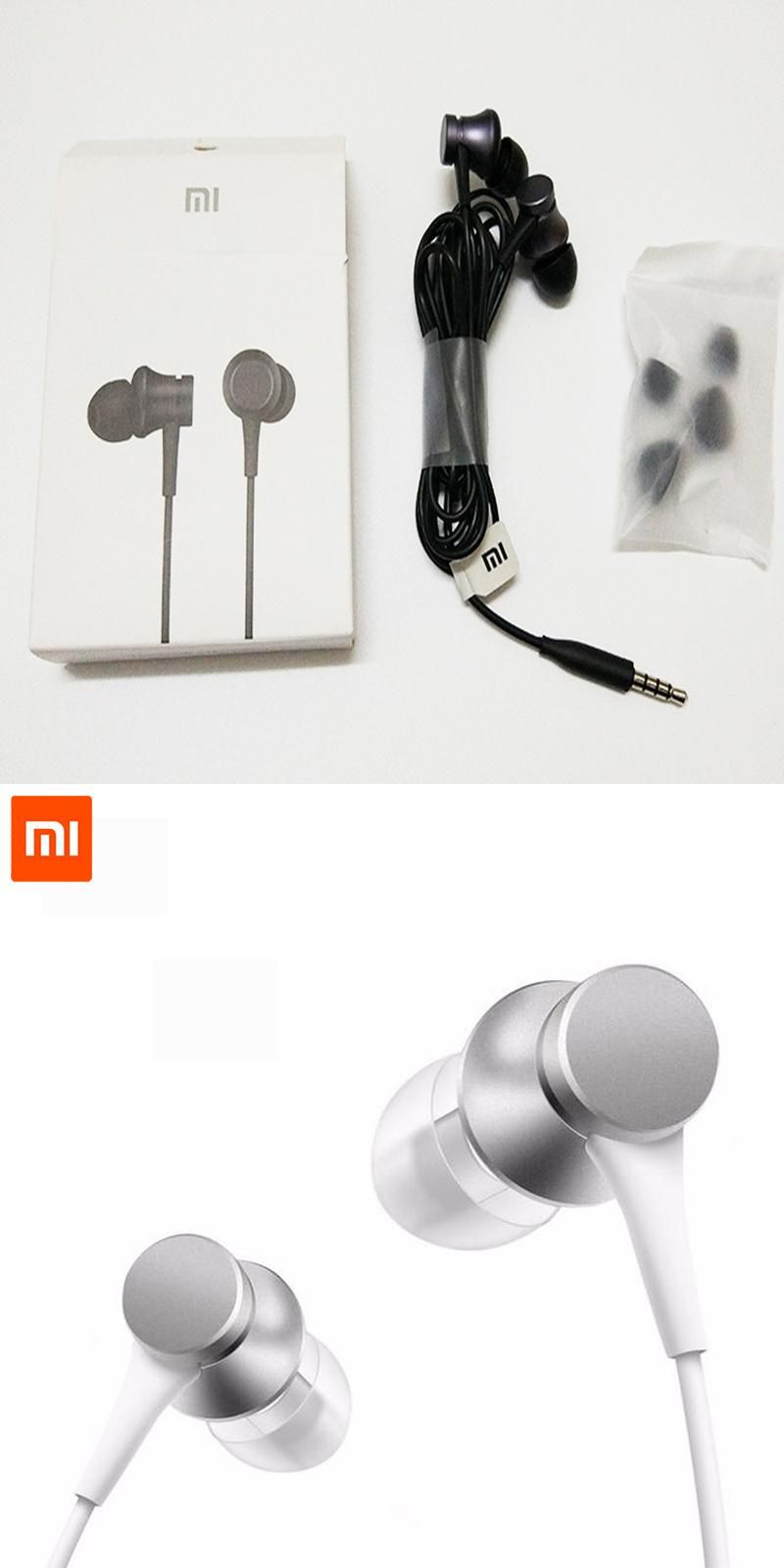 Newest Original Xiaomi Piston 3 Fresh Edition Earphone With Mic New Mi Basic Version In Ear Headset Remote For Redmi Red