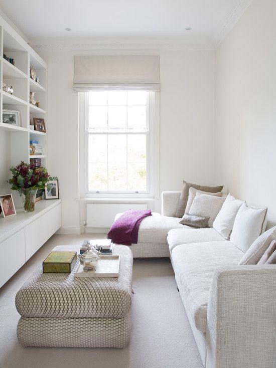 Imagem 32 Small Living Room Decor Narrow Living Room Small