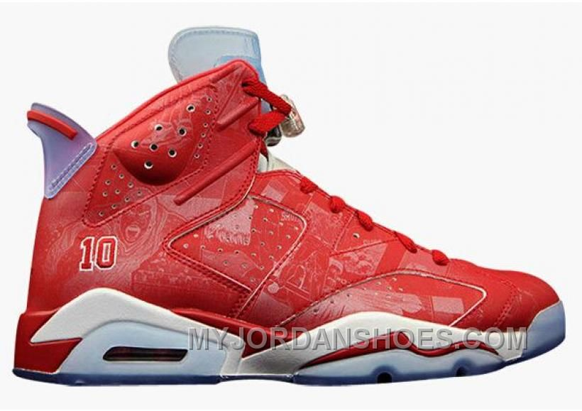 super popular acb1b e910e Style Code  302370- ... light silver white true red  now buy authentic air  jordan 6 retro ...