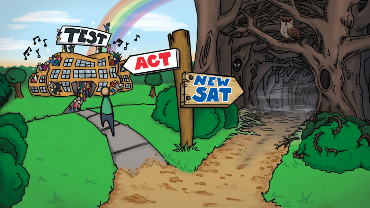 Can anyone tell me what is the difference between a ACT and a SAT test.?
