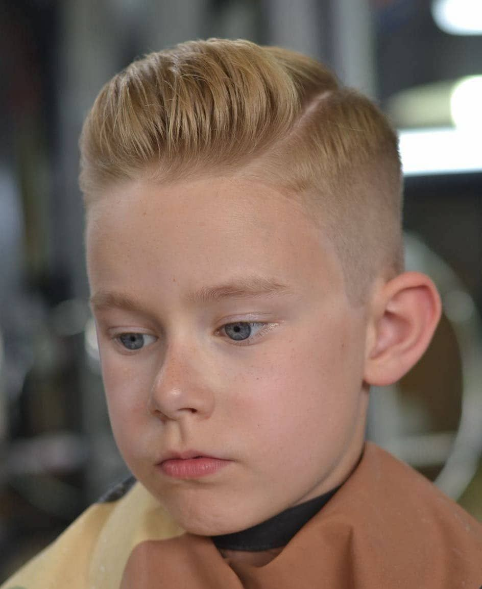 90 Cool Haircuts For Kids For 2019 Boy Haircuts Blonde