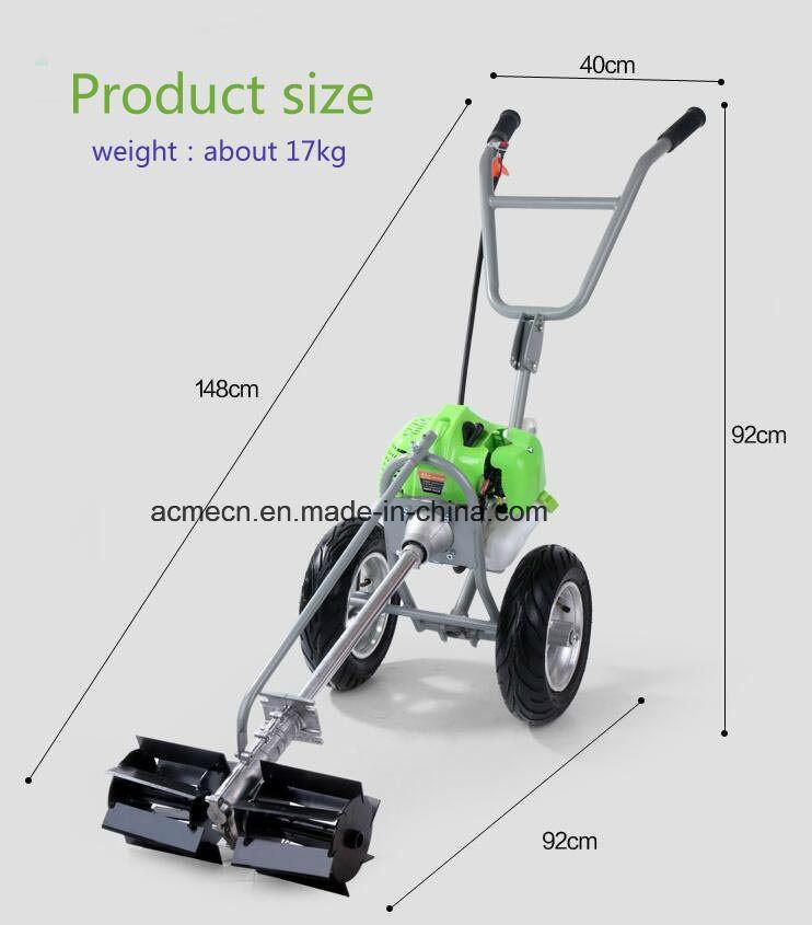 Hand Propelled Multi Function Portable Mower Lawn Garden Weeder Field Mower Grass Cutter Grass Cutter Garden Weeder Lawn And Garden