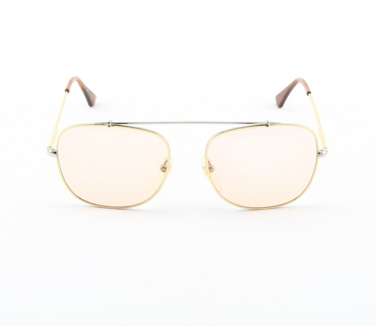 75342b6ee6 Super Primo 717 1M Sunglasses Gold Chrome with Pink Zeiss Lenses by  RETROSUPERFUTURE - Theaspecs.com