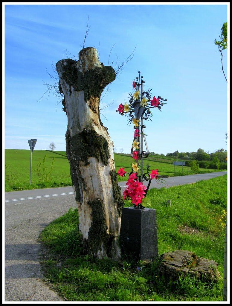 Krzyż przydrożny w Starej Wsi gm.Bychawa - Photography by Janusz Kulik - http://www.panoramio.com/photo/52425925