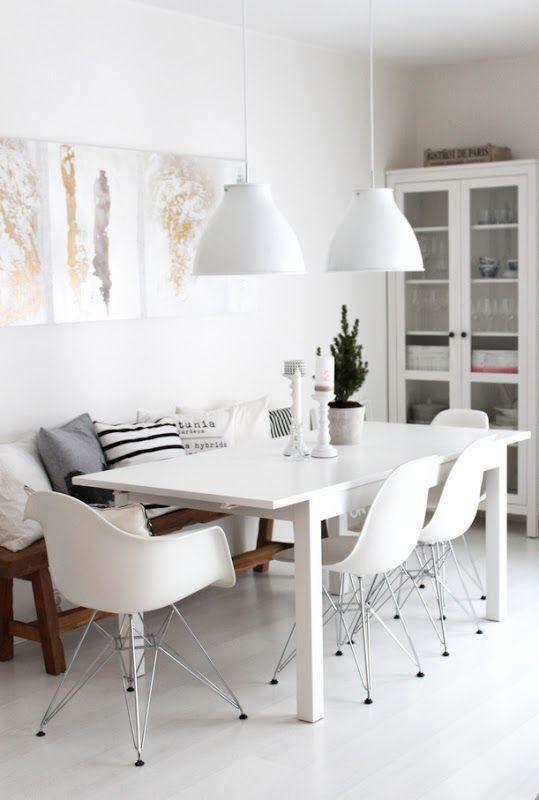 Bancos para las mesas de comedor | happy home | Dining room, Dining ...