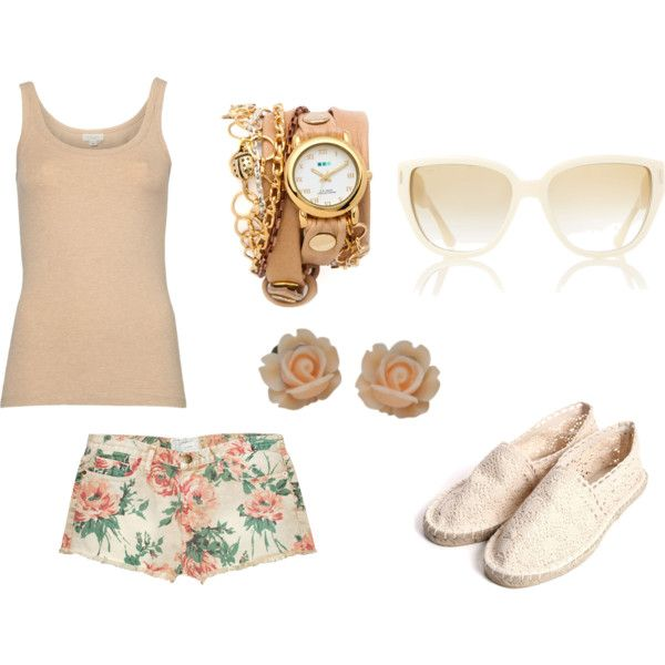 """""""Floral"""" by lorabrown on Polyvore"""
