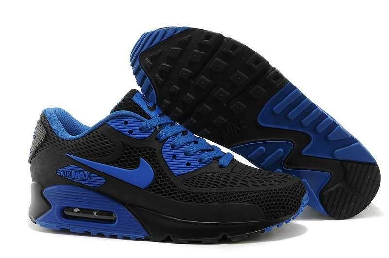 1767 Nike Air Max 90 Kpu Dam Herr Svart Blå Se029334slyzl Nike Air Max 90 Black Nike Air Max 90 Mens Nike Air Max 90