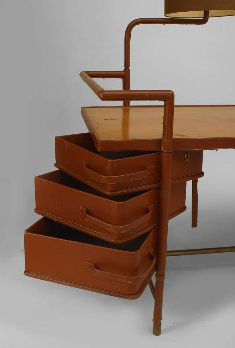 Muebles Modernos Para El Hogar 1940s French Desk With Hinged Lamp Attributed To Jacques