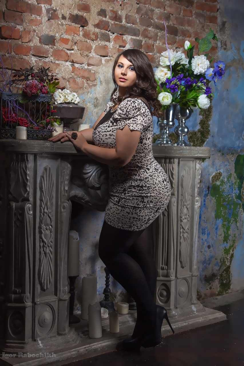 alexandra model sherbakova size Plus