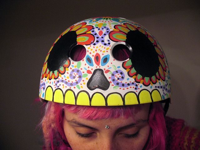 Roller Derby Helmet by Soyalegato