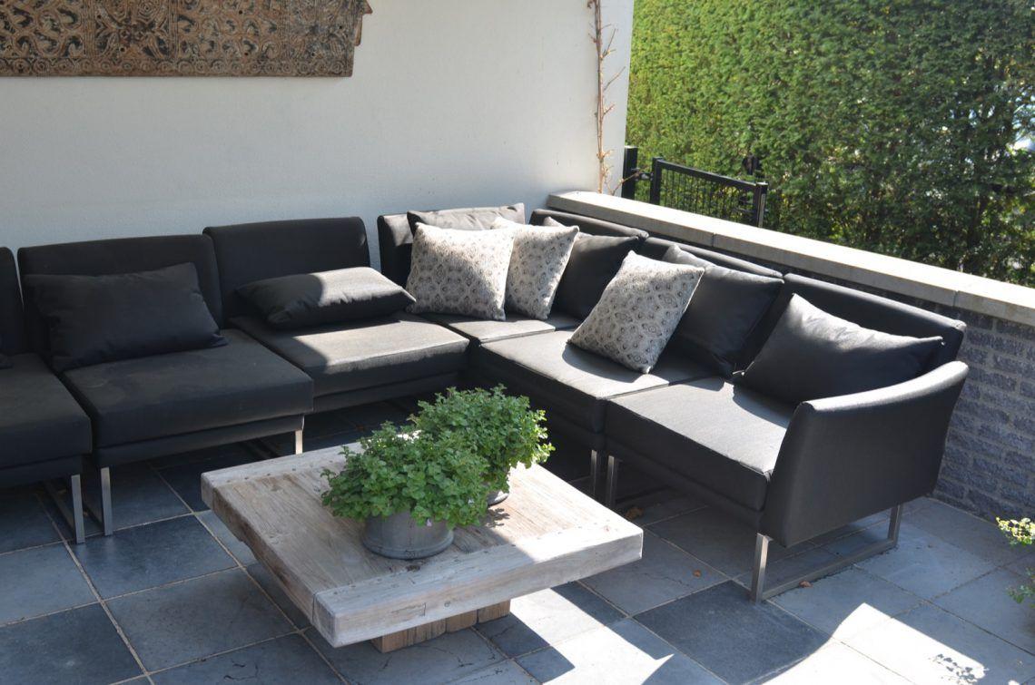 Groenseizoen - Moderne tuin met lounge - Hoog □ Exclusieve woon- en ...