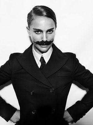 MOVEMBER ... Natalie Portman facebook.com/speakthefilm