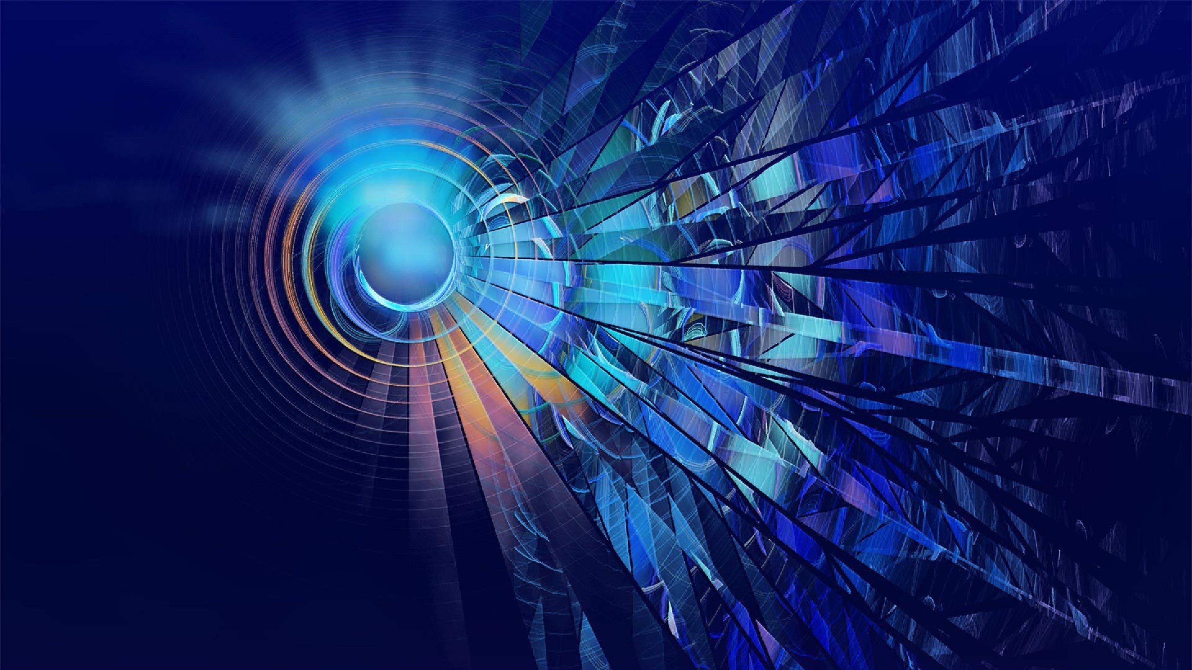 3840x2160 Circles 4k High Definition Widescreen Wallpaper Abstract Wallpaper Backgrounds Blue Background Wallpapers Background Hd Wallpaper