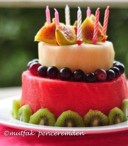 Fruit Design Meyve Pastas