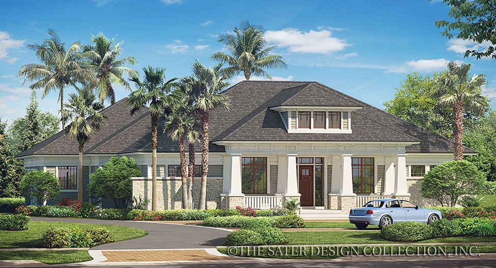Prairie pine court house plan house plans luxury houses for Prairie style house plans luxury