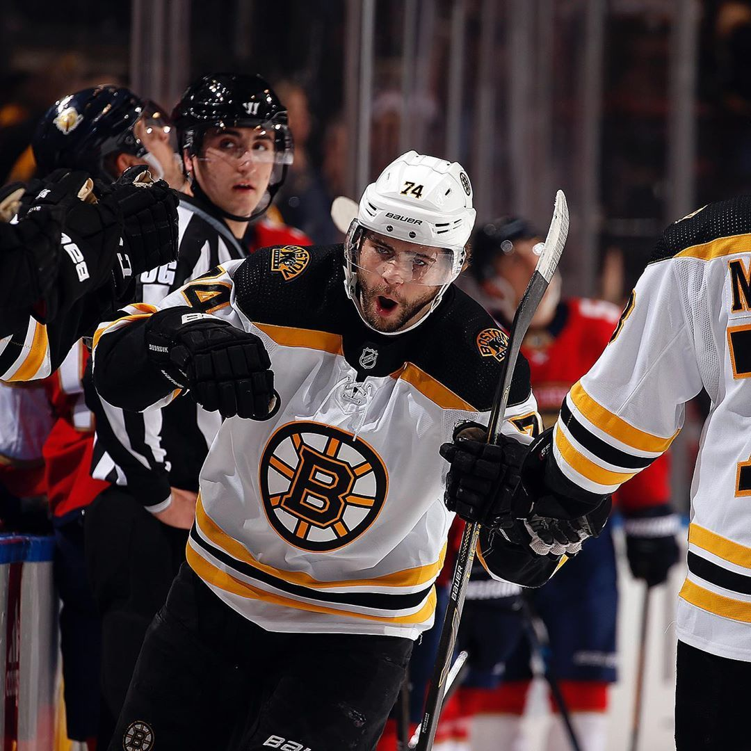 Boston Bruins On Instagram Career Point No 100 For Cellyszn Boston Bruins Bruins Detroit Red Wings Hockey