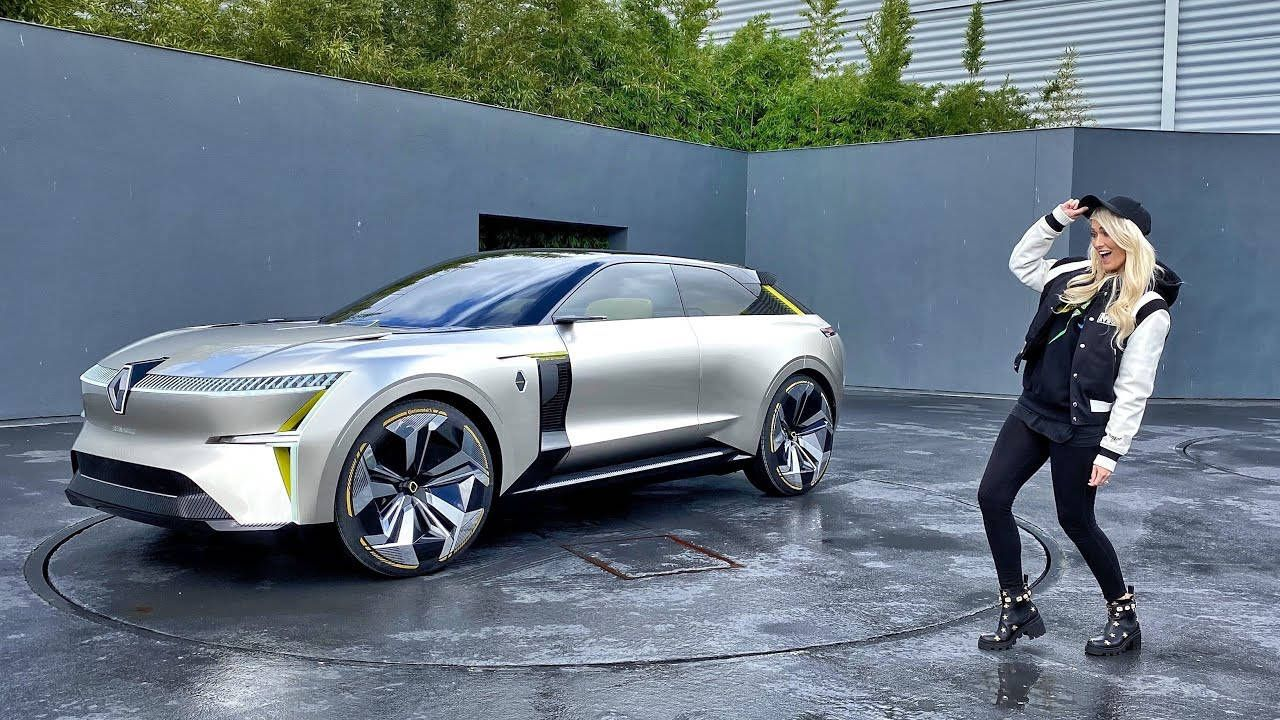 This Suv Transforms Renault Morphoz In 2020 Futuristic Cars Renault Super Cars