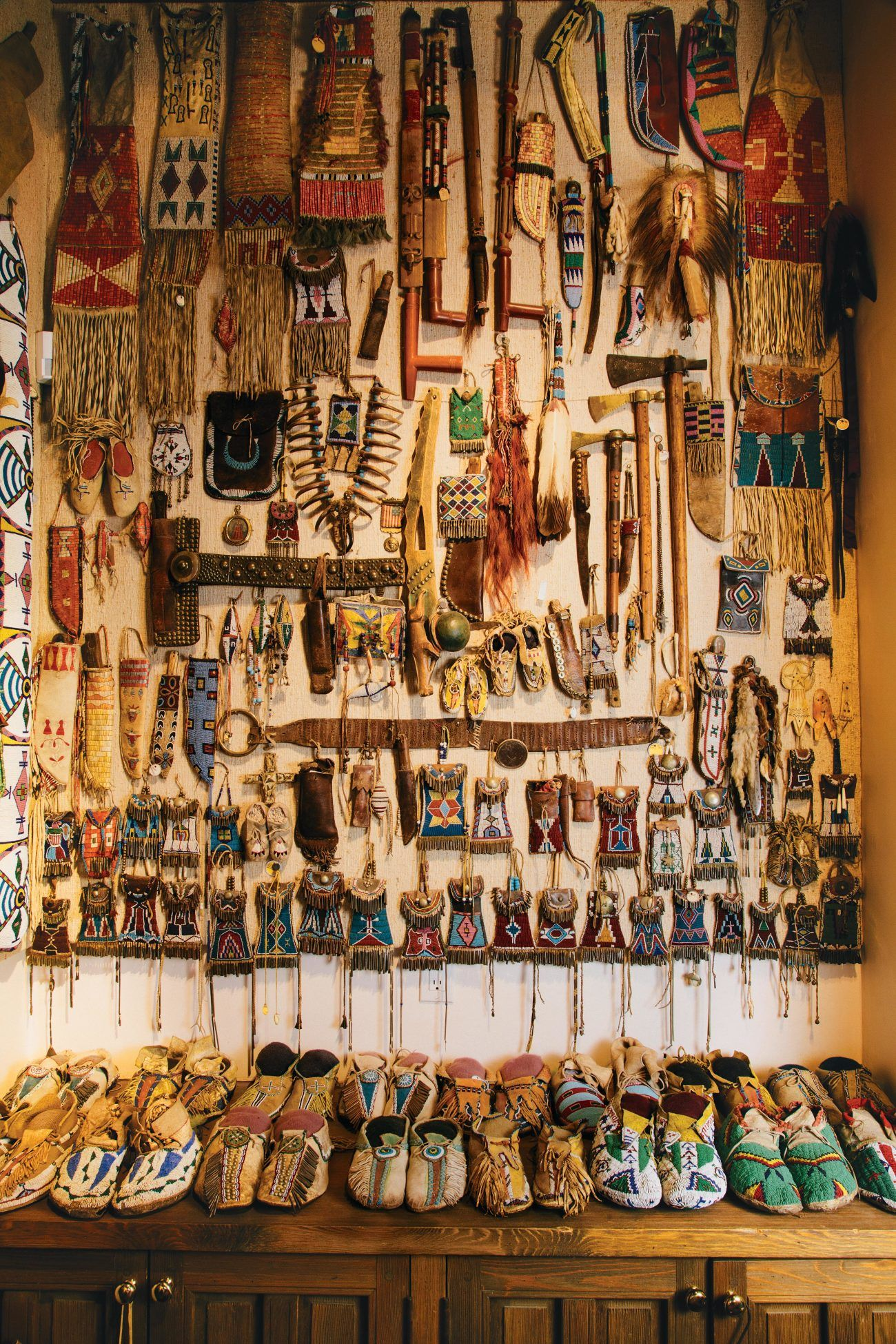 p>Part of Forrest Fenn's collection of American Indian artifacts</p