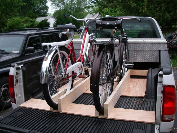 Bike rack for truck bed google search bike course for Rack pour garage