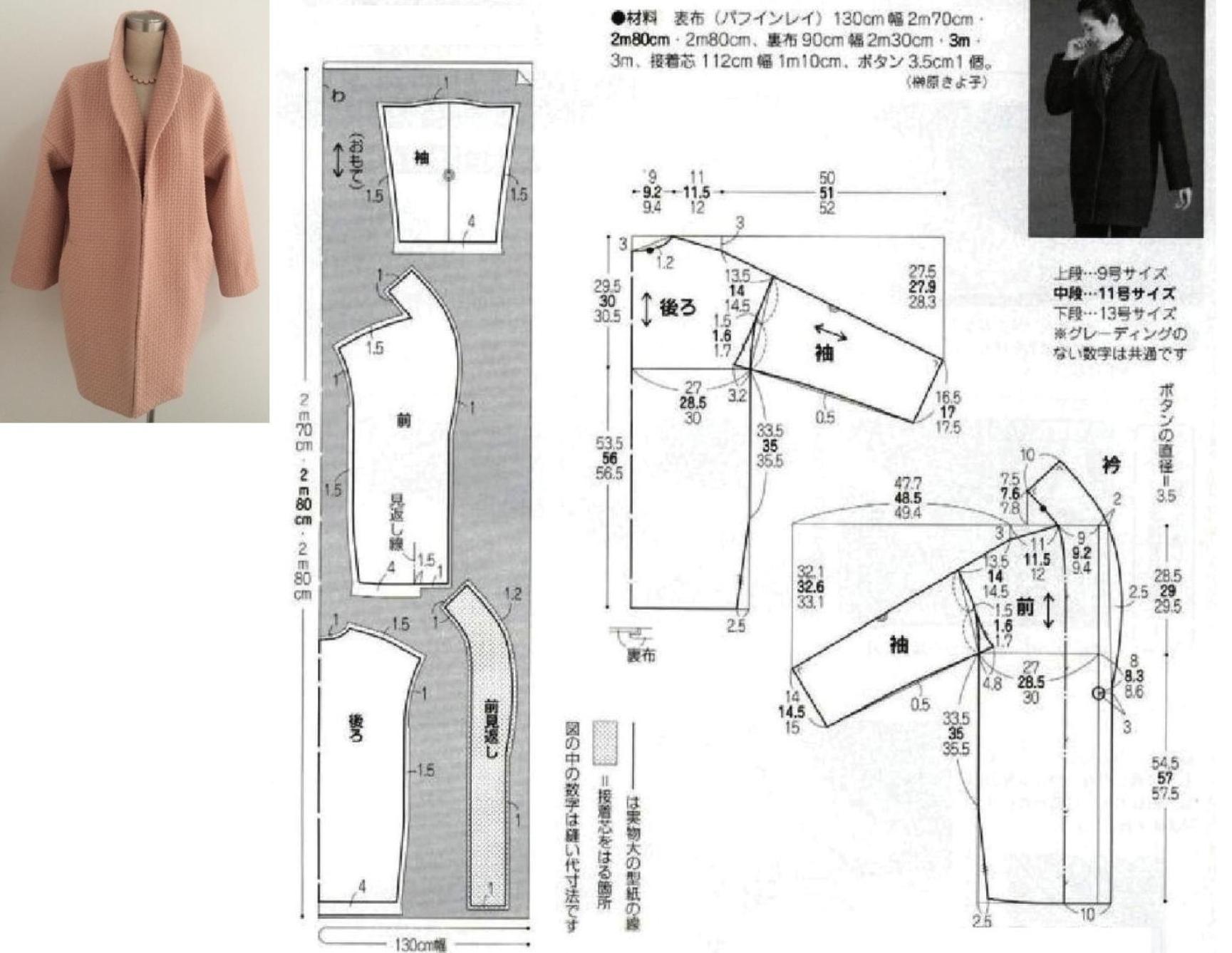 Выкройки и моделирование пальто фото 389
