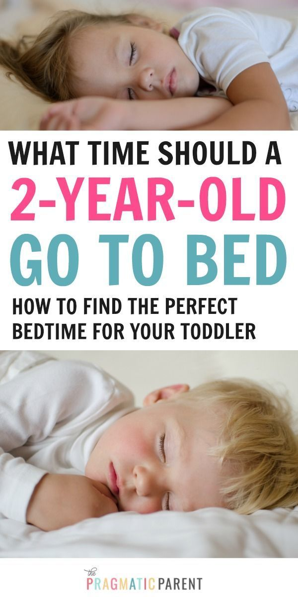 What Time Should A 2 Year Old Go To Bed Finding The Perfect
