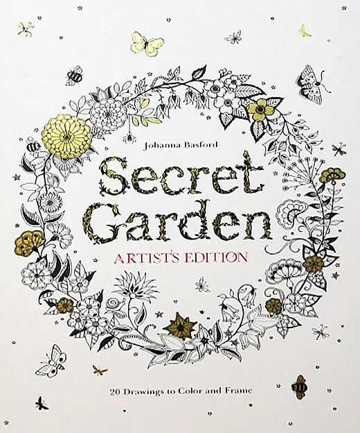 ATTN COLORIST We Will Be Giving Away The Secret Garden Coloring Book Soon Order A Adult Color Box Today Just In Time For Christmas