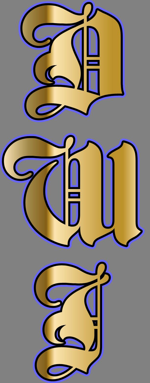 The initials D.W.I stands for Dark Warrior Inc. Dark