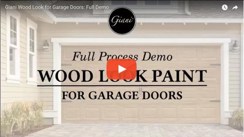 Giani English Oak Wood Look Kit For Garage Doors In 2020 Garage Door Makeover Garage Doors Garage Door Repair