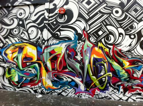 Street art is the shit!