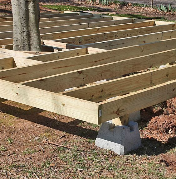 How To Build A Fabulous Diy Floating Deck Building A 640 x 480