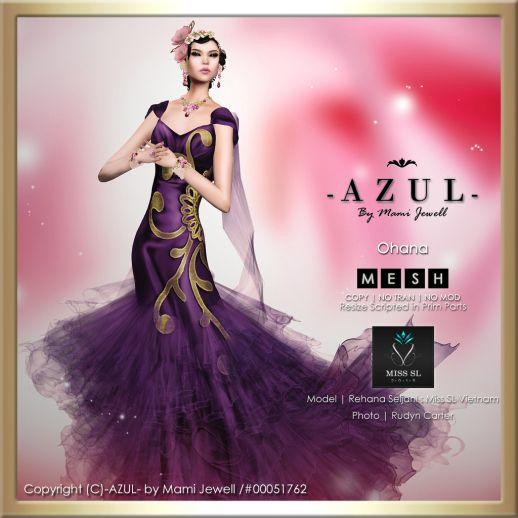 -AZUL- Ohana (c)-AZUL-byMamiJewell