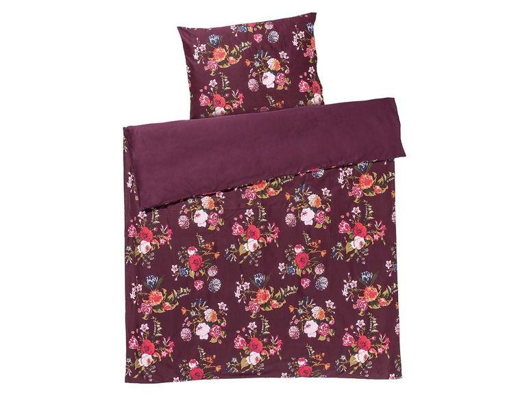 MERADISO® Saténové ložní prádlo, 140