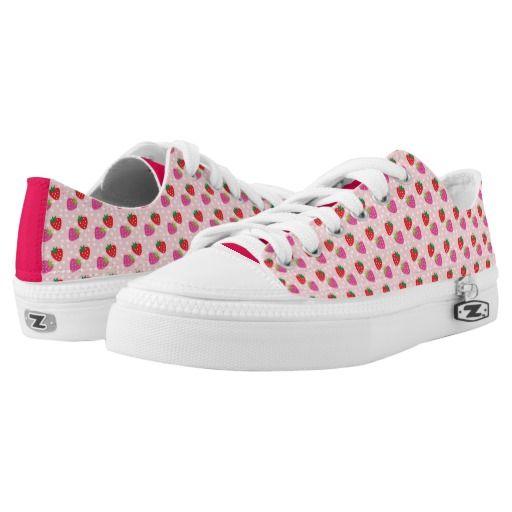 Strawberries Low-Top Sneakers