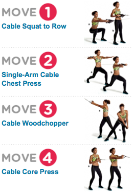 15 min cable workout  imfit2live  cable workout