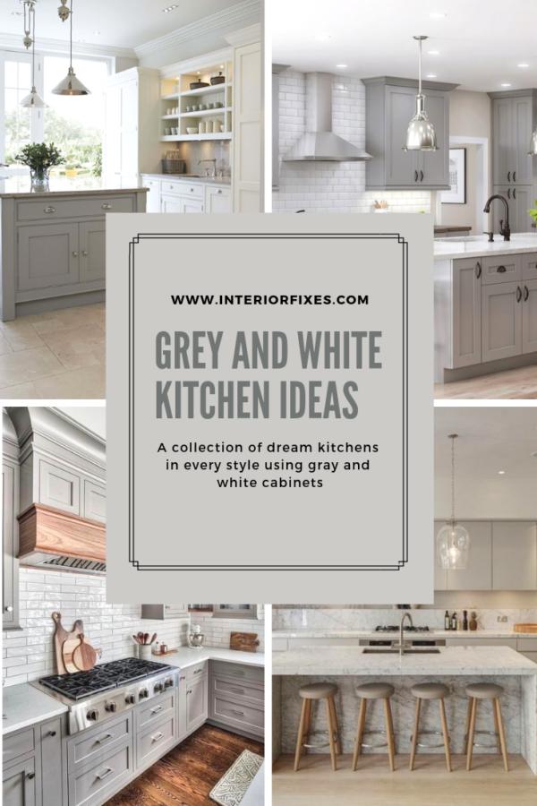 Grey Kitchen Cabinets Design Ideas Interior Fixes Gray Kitchen Inspiration For Coastal White Modern Kitchen Grey Kitchen Inspiration Gray And White Kitchen