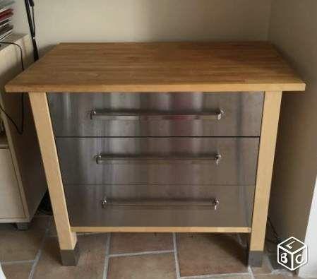 Buffet Ilot  casserolier cuisine Ikea Varde équipement maison