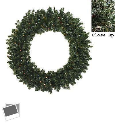 Wreaths Garlands and Plants 117419 48 Pre-Lit Canadian Pine