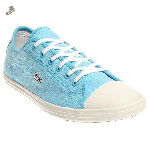 Lacoste Women S Ziane Sneaker Ens Spw Blu Blu Casual Shoe 9 Women Us Lacoste Sneakers For Women Amazon Partner Link Sneakers Sneakers Fashion Lacoste