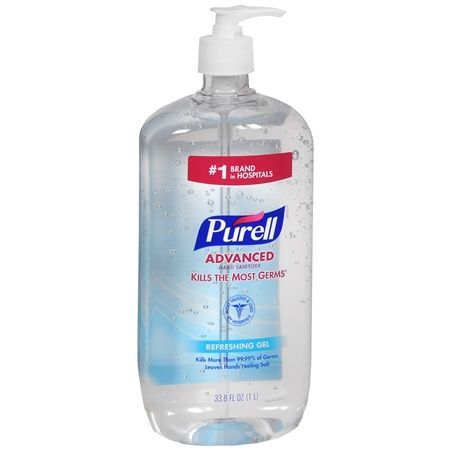 Purell Advanced Hand Sanitizer Refreshing Gel 8 Fl Oz Hand