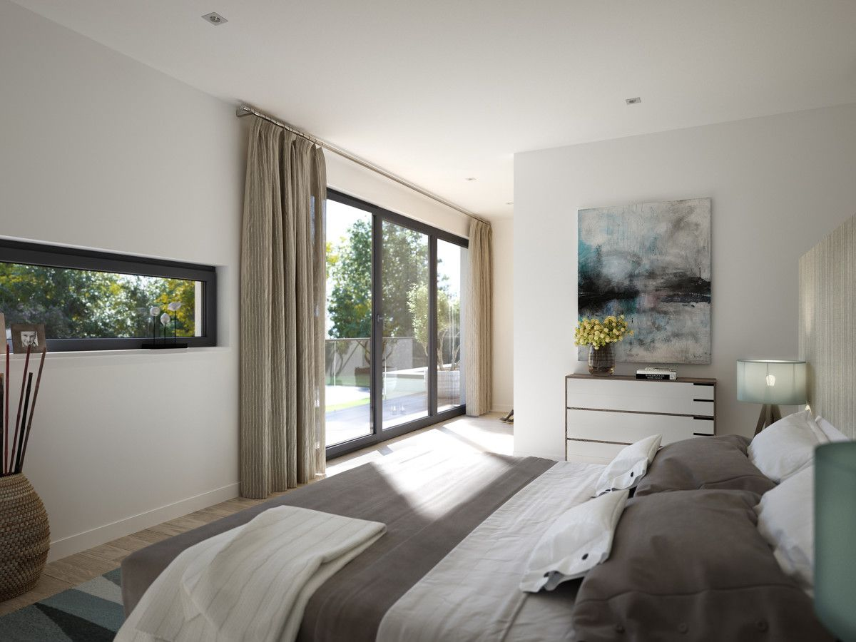 Schlafzimmer M   Einrichtungsideen Schlafzimmer Grau Weiss Mit Balkon Haus Concept