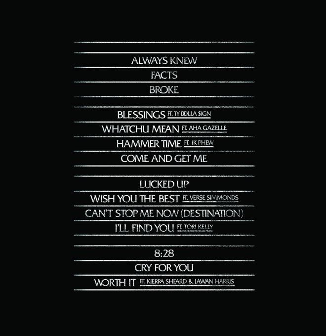 lecrae all things work together playlist