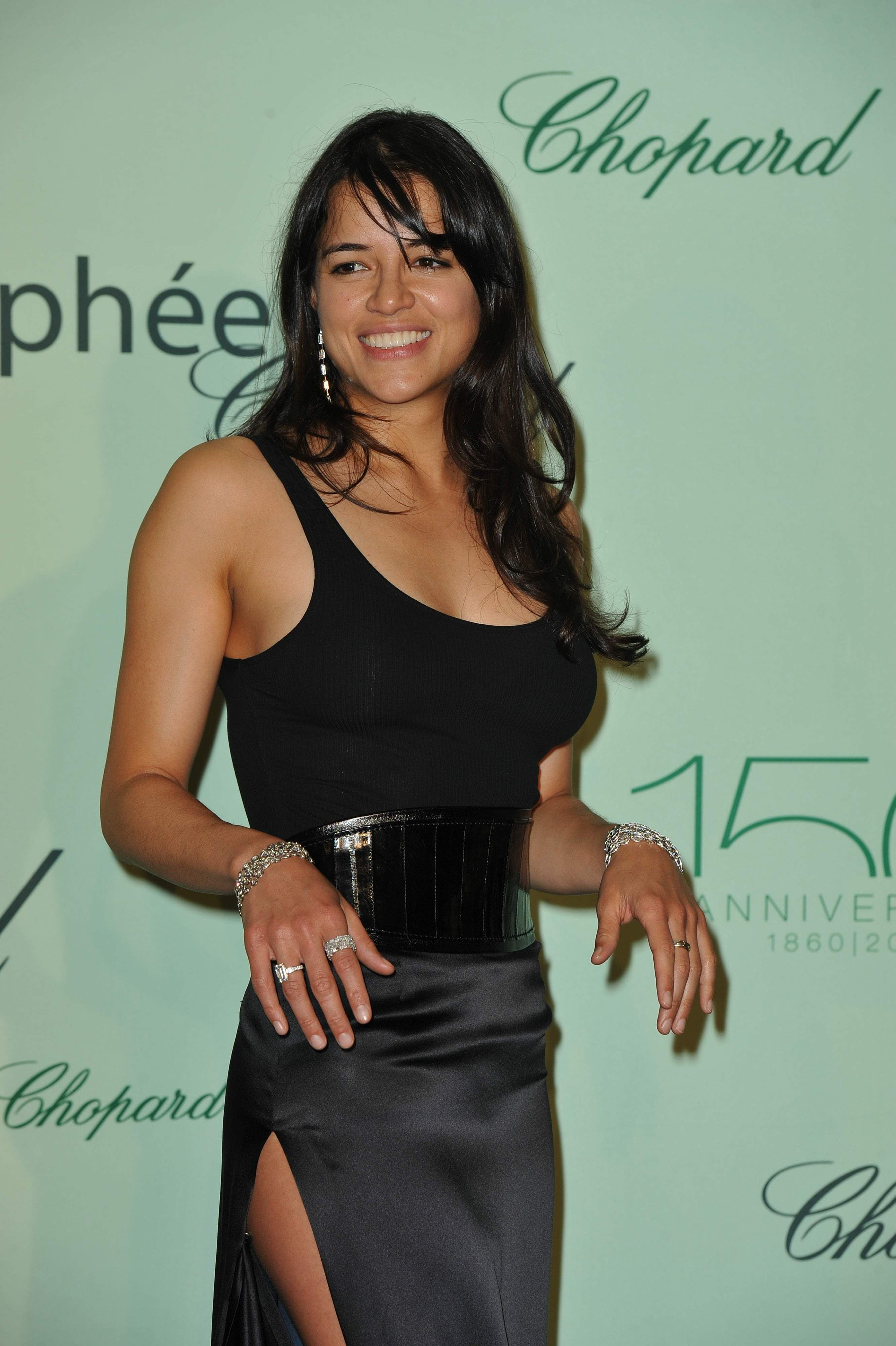 Michelle Rodriguez looks just amazing in this picture. I don't think we'll see her looking at hot as this should my novel become a movie, but maybe at the Oscars she'll look just as amazing.