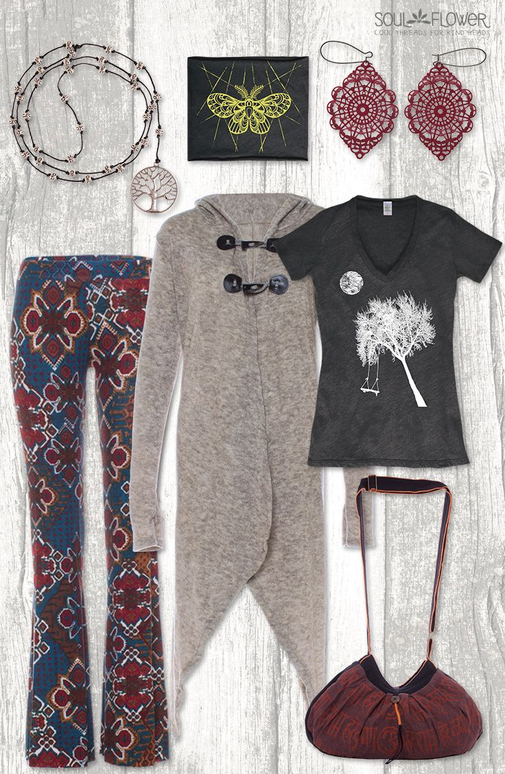 9965b3bcd5f Cozy Fall Favorites from Soul Flower Clothing!  boho  hippie  organic   fairtrade  ecofriendly