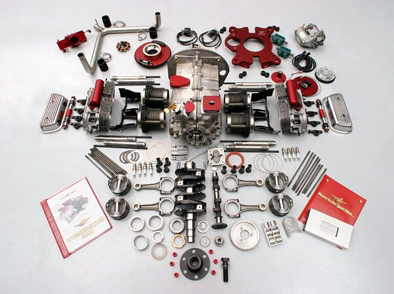 AeroVee 2.1 kit from Sonex--80 hp VW aircraft engine (161 lbs complete)