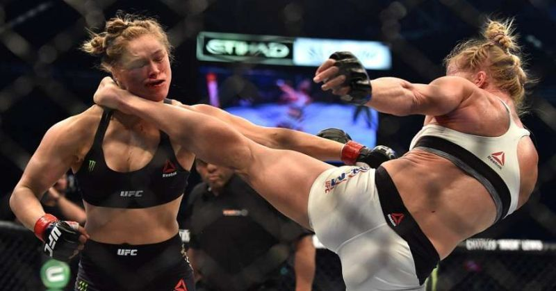 Humility lesson. Ronda Rousey was hurt so badly by Holly Holm that she says it may be 6 months before she can do this