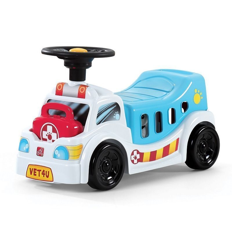 Step 2 Pet Rescue Rider 18m Toddler Toy Sit N Ride Push Along Brinquedos