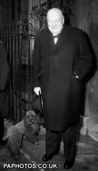 Sir Winston Churchill and Rufus