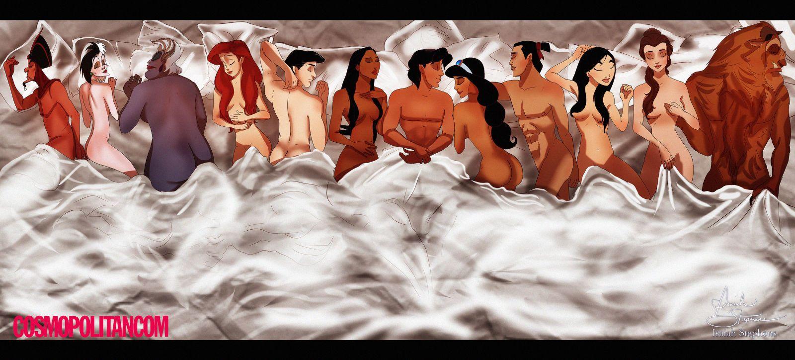 if kanye west cast disney princesses in famous philosophy